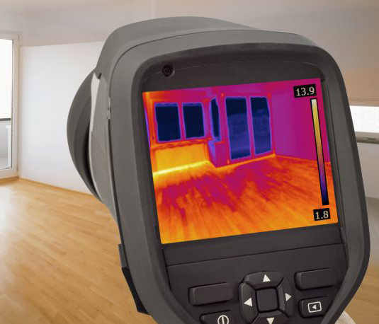 Thermal Imaging Inside a House